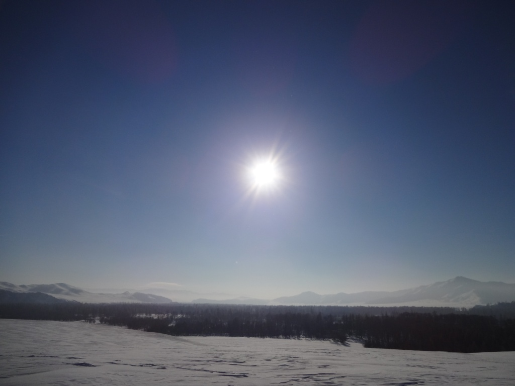 sun over the snow1