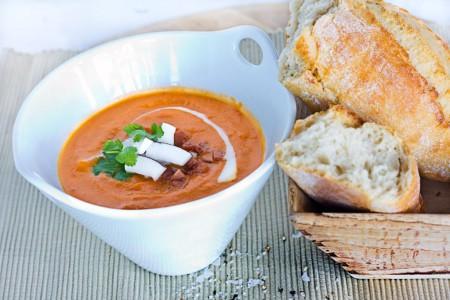 Coconut & Ginger soup