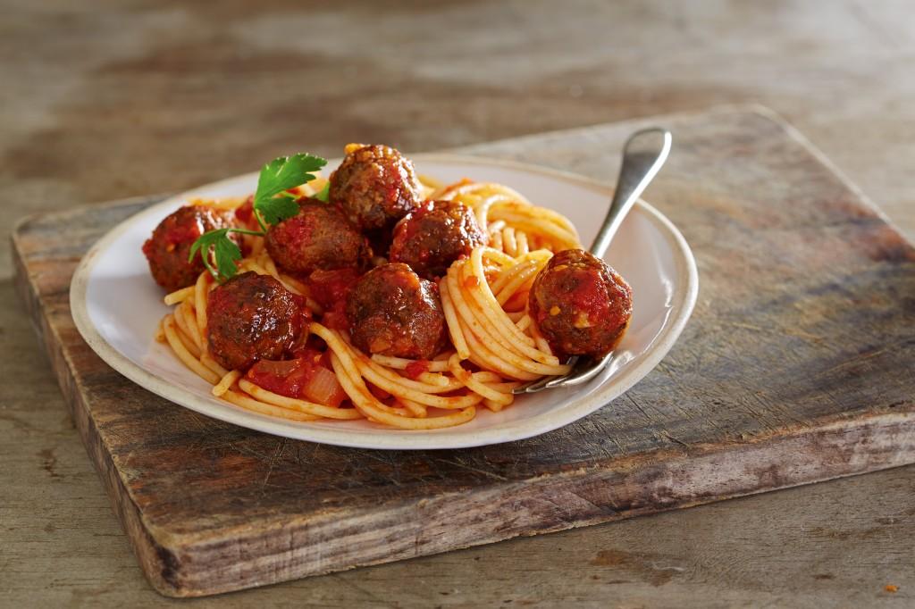 Spaghetti and No Meatballs Small