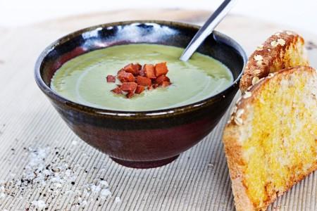 Lemon and Broccoli Soup