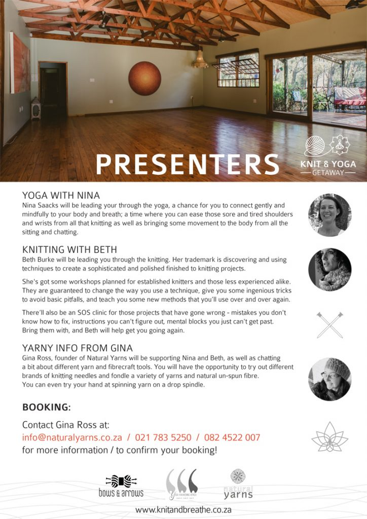 Yoga & Knit Day Retreat